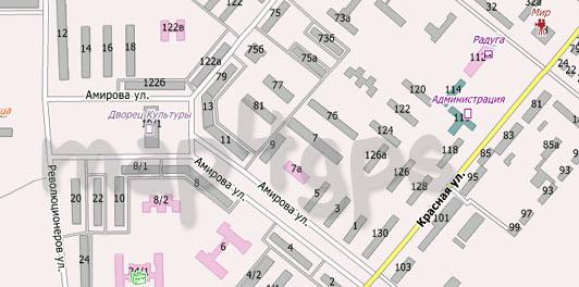 Карта Белебея для Сити Гид