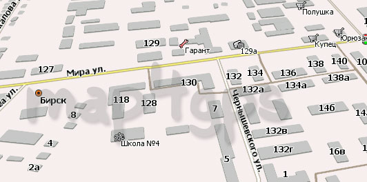 Карта Бирска для Навител Навигатор