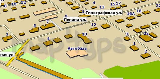 Карта Чишмы для ГисРХ