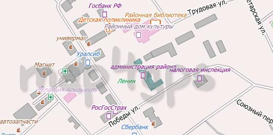 Карта Давлеканово для City Guide