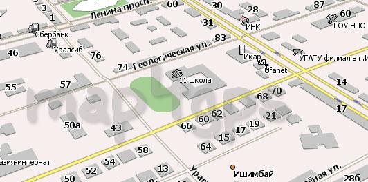Скачать карту Ишимбая для Навител Навигатор