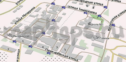 Карта Малмыж Навител