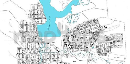 Карта Александровск растровая (Ozi)