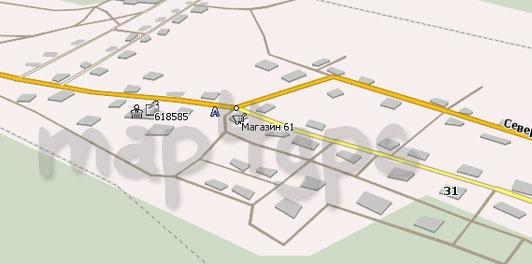 Карта Антипина Навител