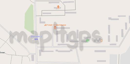 Карта Авсюнино для City Guide