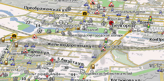 Карта Белгород Навител Навигатор