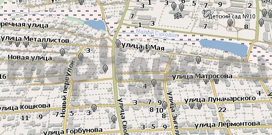 Карта Горнозаводск Навител