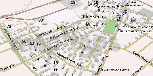 Карта Кострома Навител