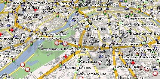 Карта Москва Навител