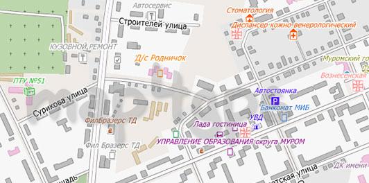 Карта Муром City Guide
