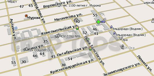 Карта Муром Навител