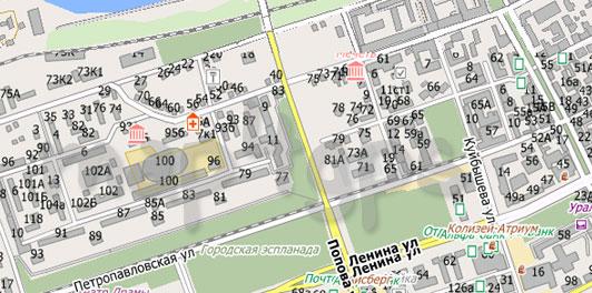 Карта Перми City Guide