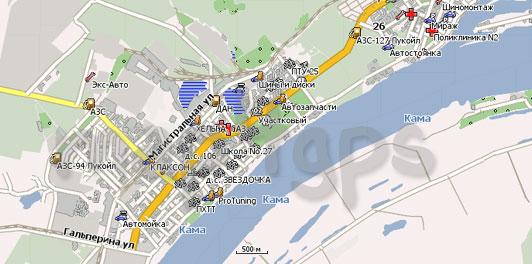 Карта Пермь Навител