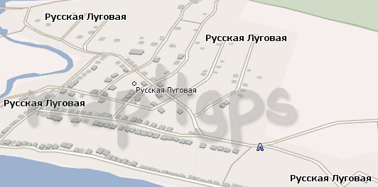 Карта Русская Луговая Навител