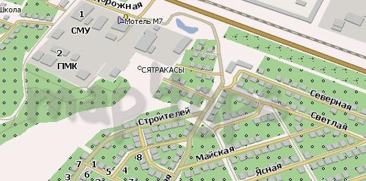 Карта Сятракасы для Навител