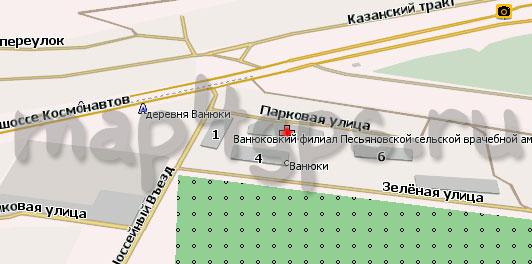 Карта Ванюки Навител