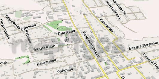 Карта Агинское Навител Навигатор