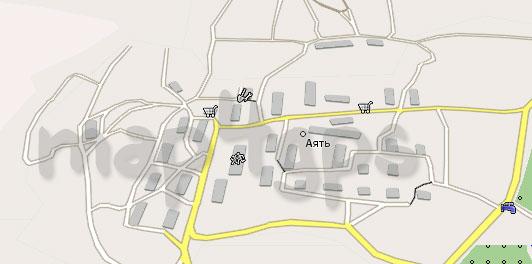 Карта Аяти Навител