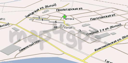 Карта Ангарск Навител