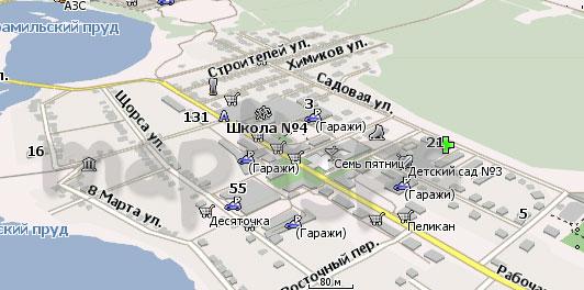 Карта Арамиль Навител