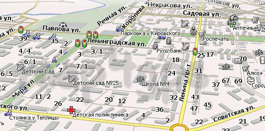 Карта Асбест Навител