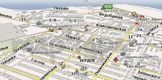 скачать бесплатно навигатор бесплатно новосибирская область