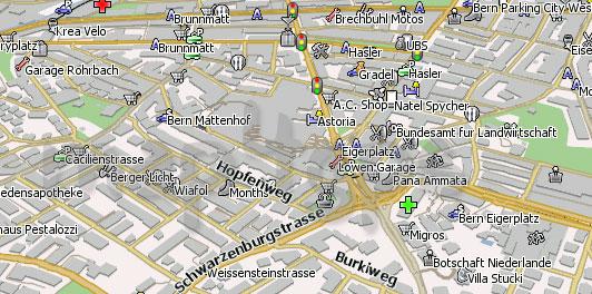 Карта Берна для Навител