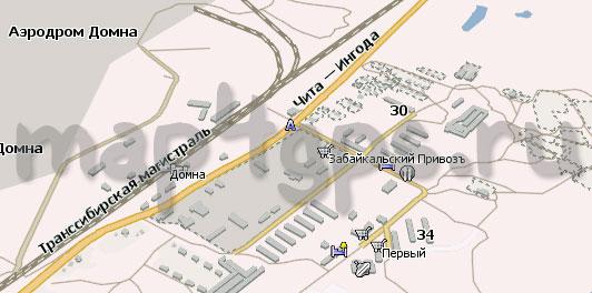 Карта Домна Навител