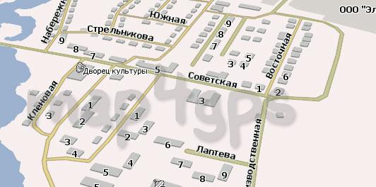 Карта Дружино Навител
