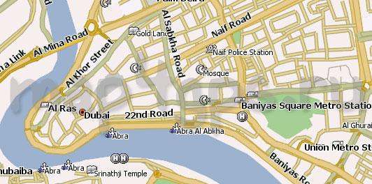Карта Дубай для Навител
