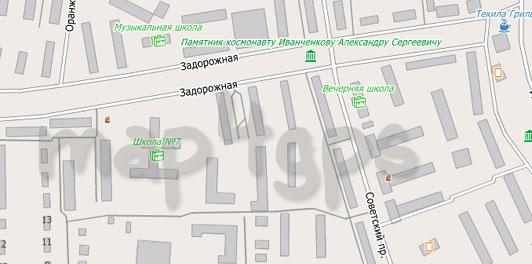 Карта Ивантеевки для City Guide