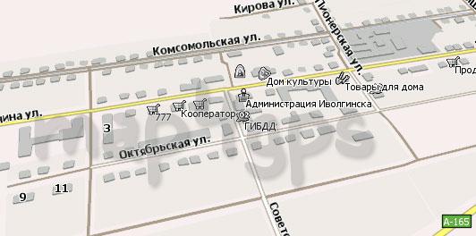 Карта Иволгинск Навител
