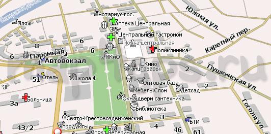 Карта Изюм для Навител