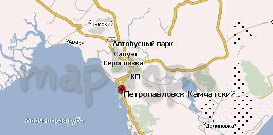 Карта Камчатского края для Навител