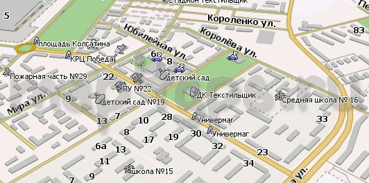 Карта Камышин Навител
