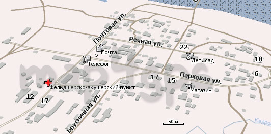 Карта Кедровый Шор для Навител Навигатор