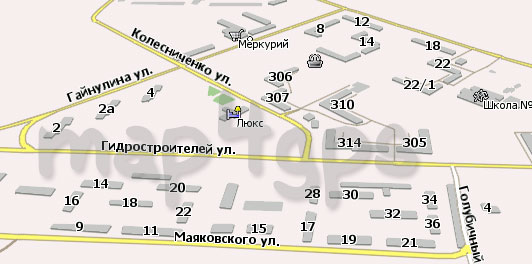 Карта Кодинск Навител