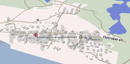 Карта Конец Бор для Навител Навигатор