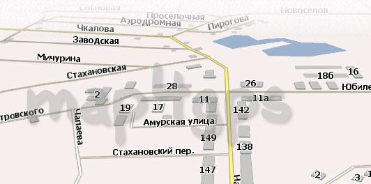 Карта Мариинск Навител