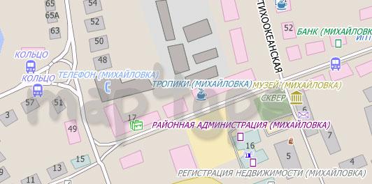 Карта Михайловка City Guide