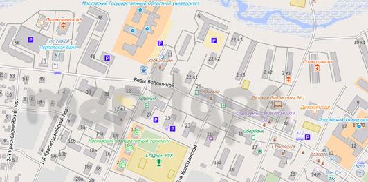 Карта Мытищи для City Guide