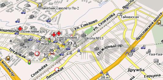Карта Мытищи Навител