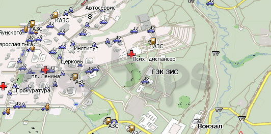 Карта Нерюнгри Навител