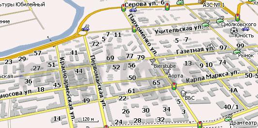Карта Нижний Тагил (Свердловская область) Навител