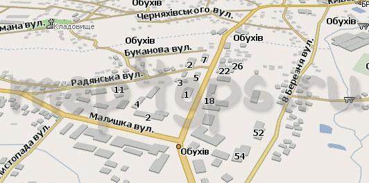 Карта Обухов Навител