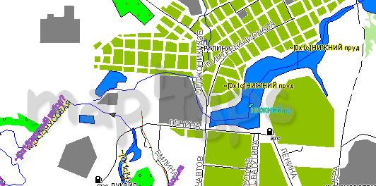 Карта Первоуральск Garmin