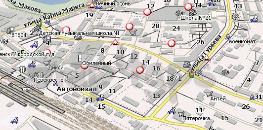 Карта Раменское Навител