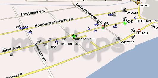 Карта Реж Навител