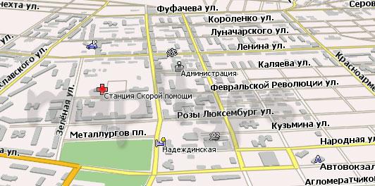 Карта Серов Навител