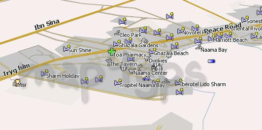 карта шарм эль шейх для навитела скачать бесплатно